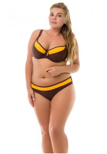 Купальник Plus Size Katrin Коричневый 640-brown