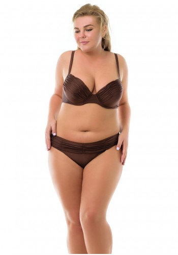 Купальник Plus Size Katrin Коричневый 4218-2-brown