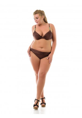 Купальник Plus Size Katrin Коралловый 4219-2-9-brown