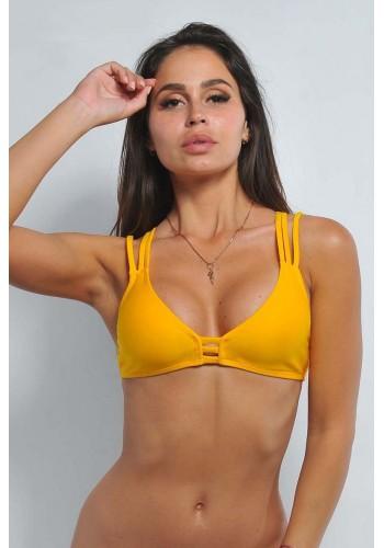 Купальный лиф Katrin Желтый 814-IndianYellow